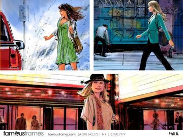 Phil Babb's Beauty / Fashion storyboard art