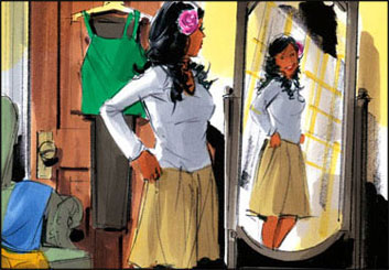 Phil Babb's Likenesses storyboard art