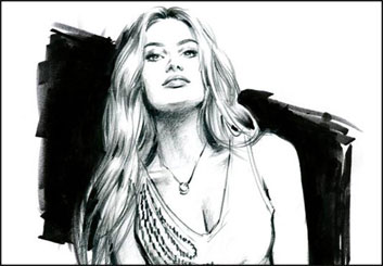 Phil Babb's People - B&W Tone storyboard art