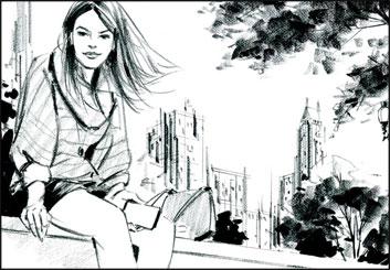 Phil Babb's People - B&W Tone storyboard art