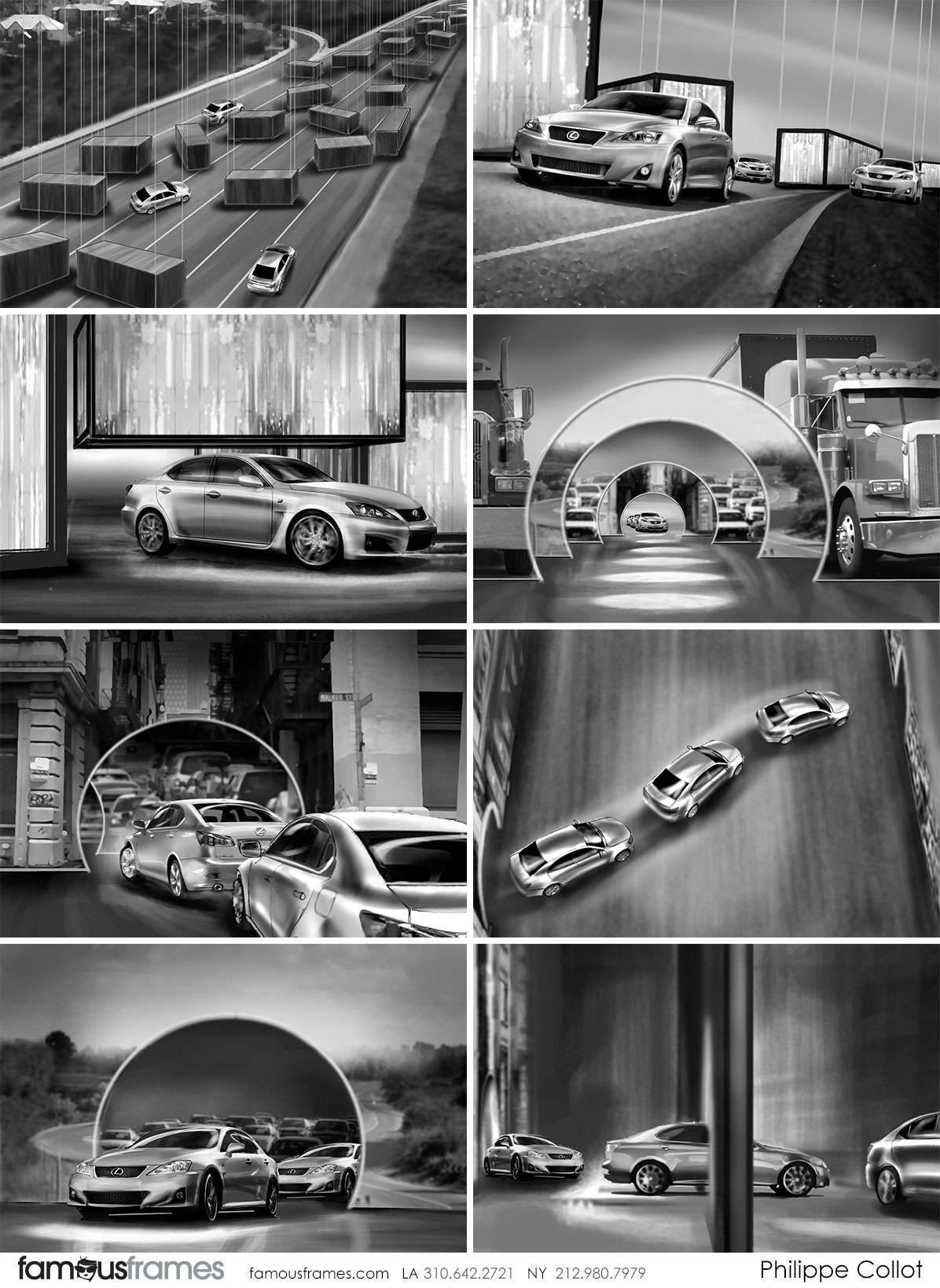 Philippe Collot*'s Shooting Vehicles storyboard art (Image #113_107_1495760038)