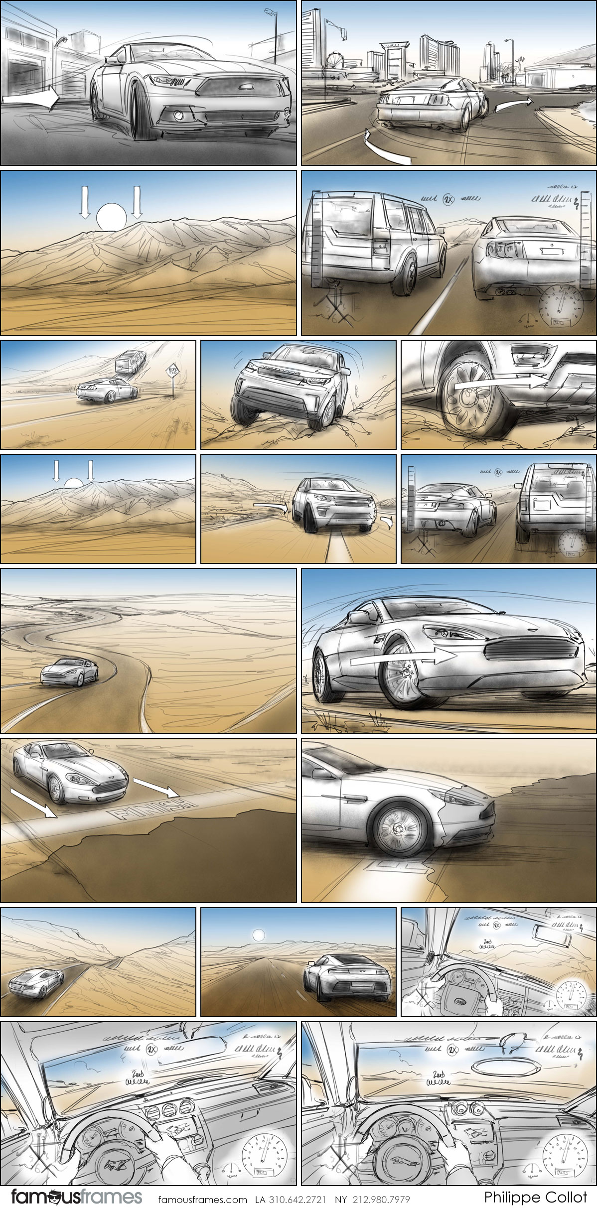 Philippe Collot*'s Shooting Vehicles storyboard art (Image #113_107_1565397161)