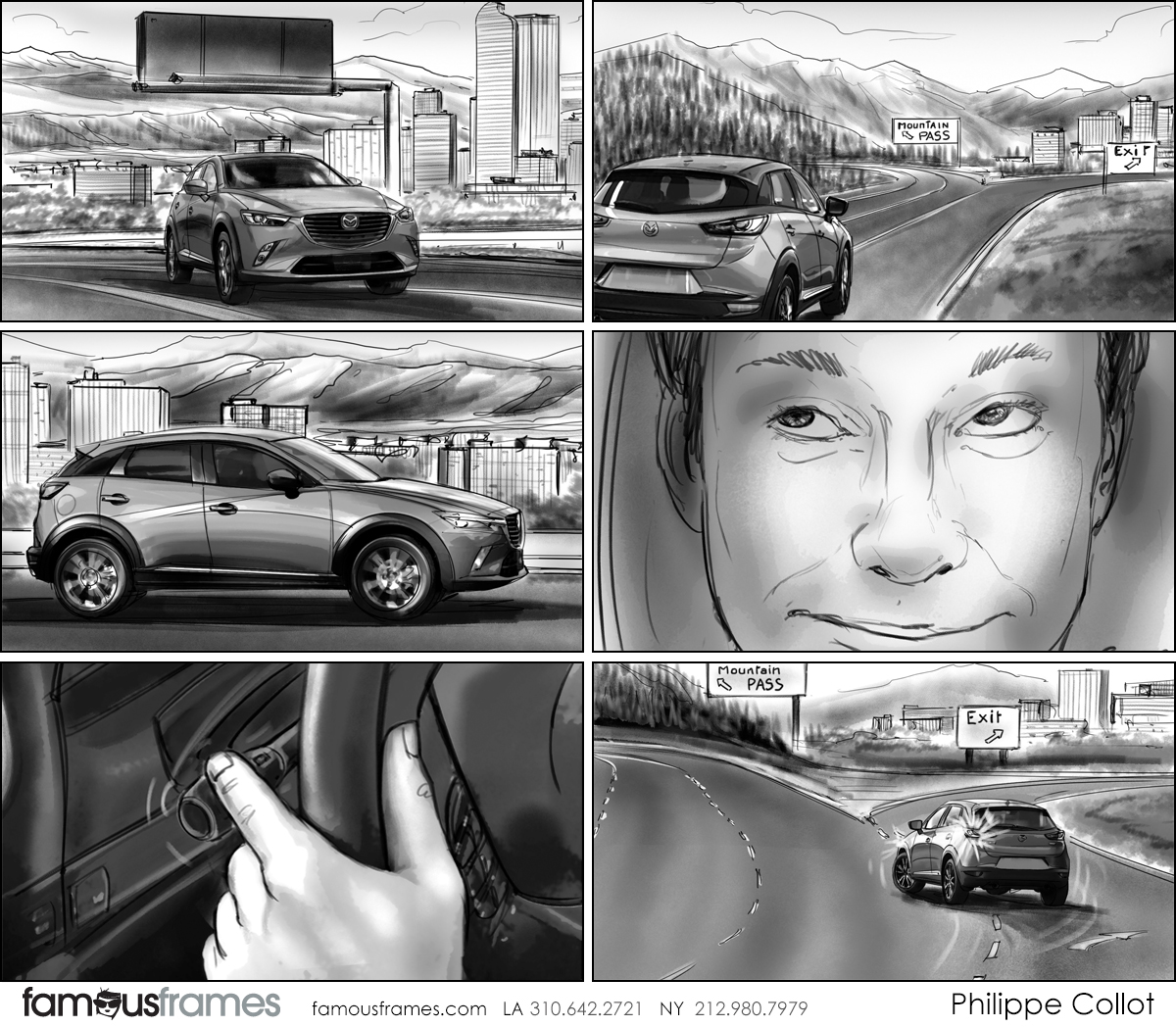 Philippe Collot*'s Shooting Vehicles storyboard art (Image #113_107_1565397471)