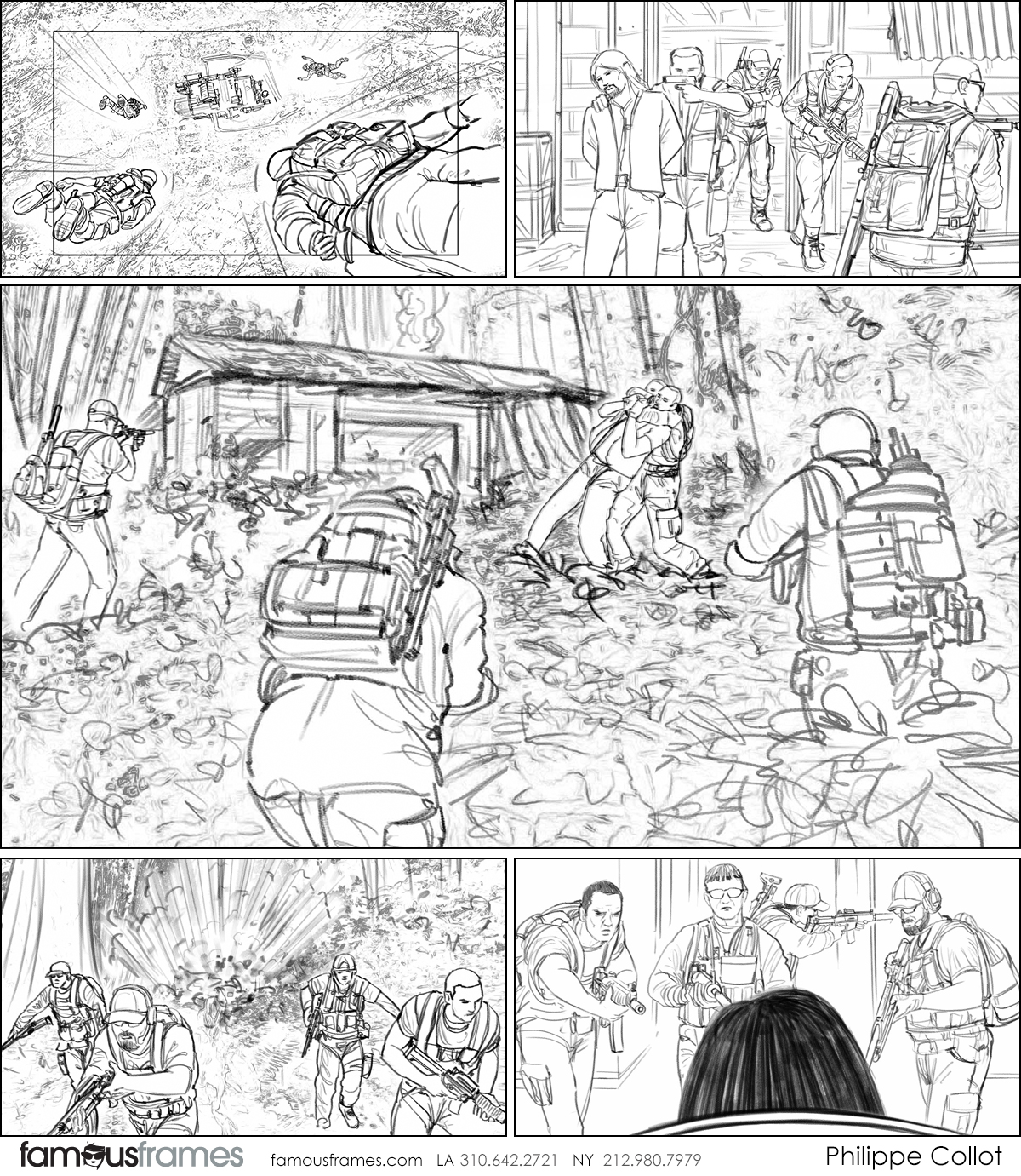 Philippe Collot*'s Action storyboard art (Image #113_114_1566001849)