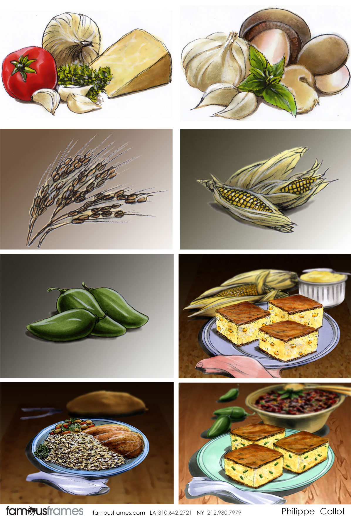 Philippe Collot*'s Food storyboard art (Image #113_13_1493407219)