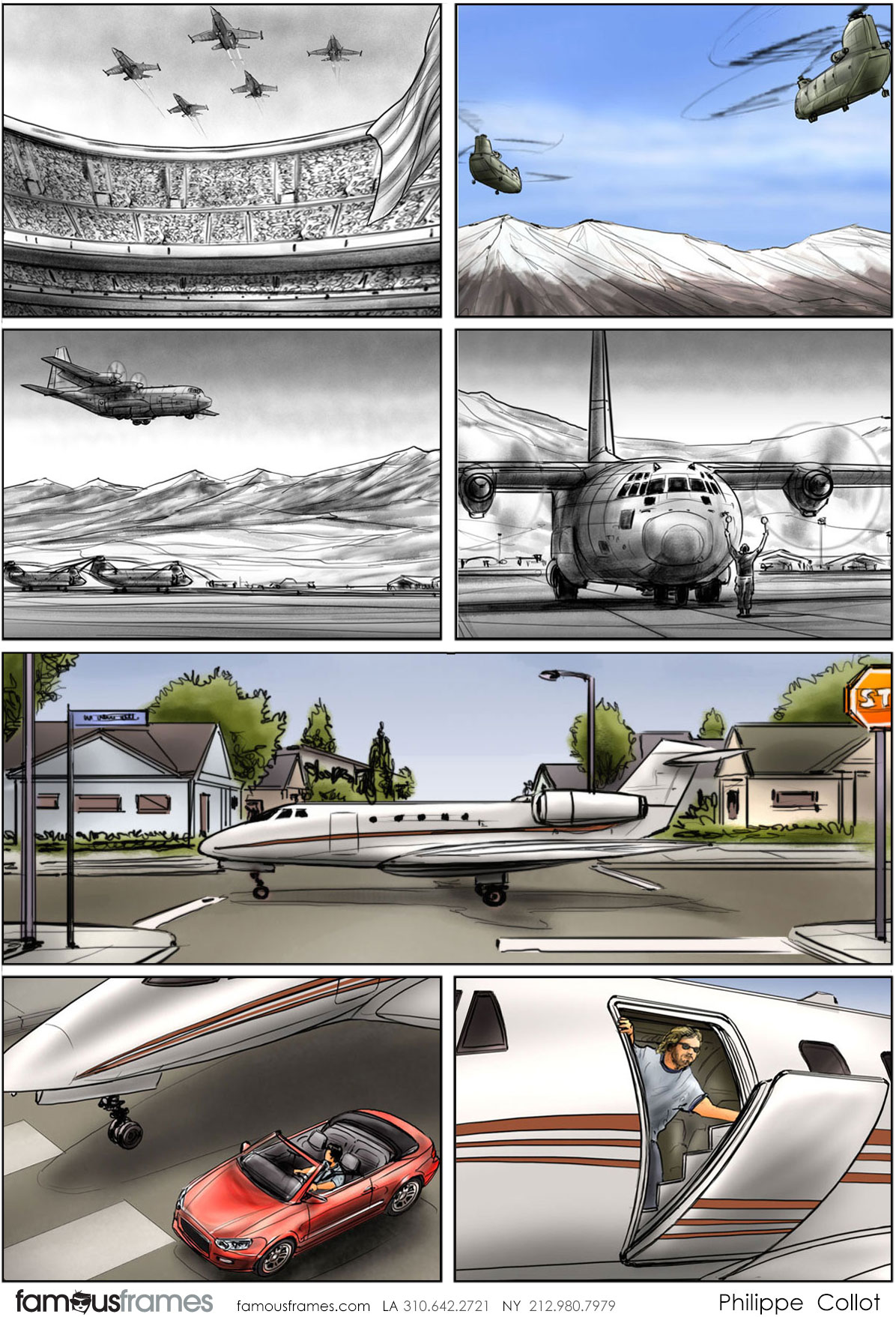Philippe Collot*'s Vehicles storyboard art (Image #113_24_1494462074)