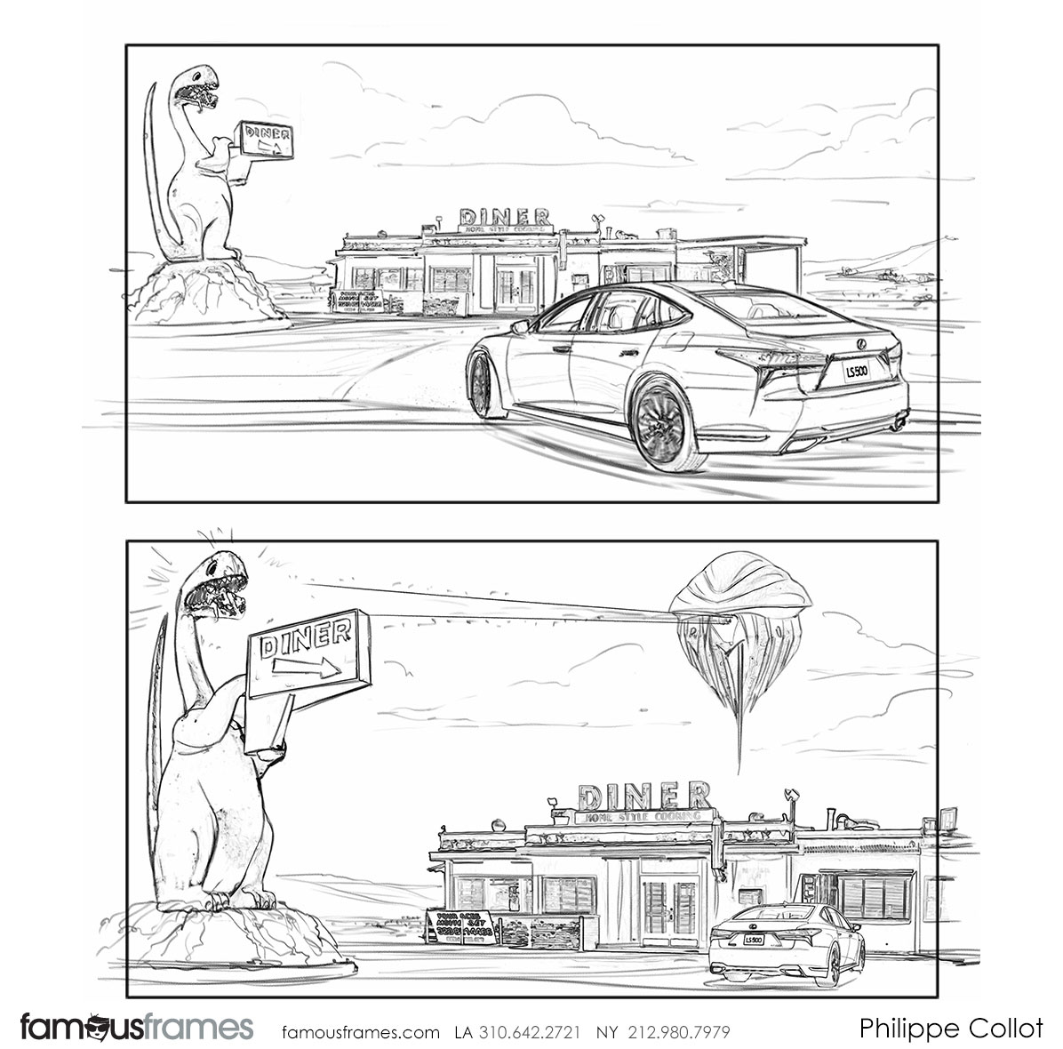 Philippe Collot*'s Shooting Vehicles storyboard art (Image #113_24_1532046300)