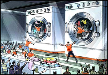 Philippe Collot*'s Concept Environments storyboard art