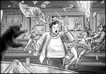 Philippe Collot*'s Video Games storyboard art