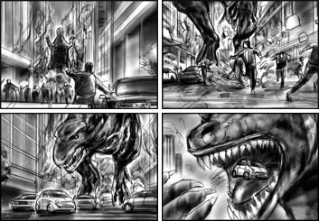 Philippe Collot*'s Film/TV storyboard art