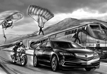 Philippe Collot*'s Vehicles storyboard art