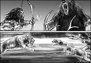 Philippe Collot*'s Wildlife / Animals storyboard art
