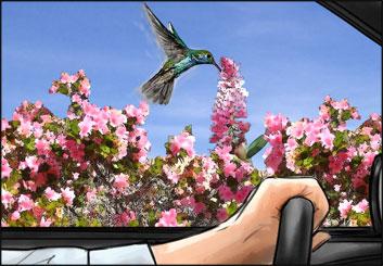 Philippe Collot*'s Environments storyboard art