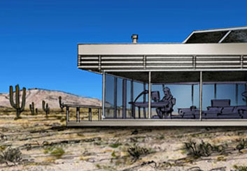 Philippe Collot*'s Architectural storyboard art