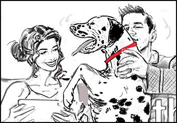 Renee Reeser's People - B&W Line storyboard art