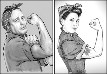 Renee Reeser's Likenesses storyboard art