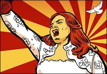 Renee Reeser's Comic Book storyboard art