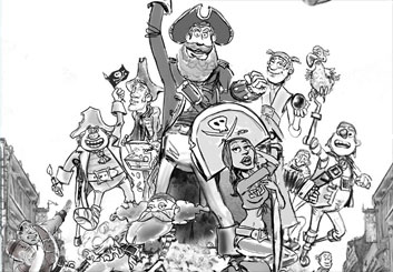 Renee Reeser's Characters / Creatures storyboard art