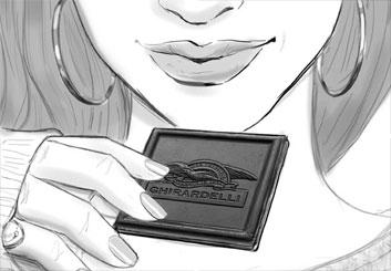 Renee Reeser's Food storyboard art