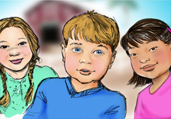 Renee Reeser's Kids storyboard art