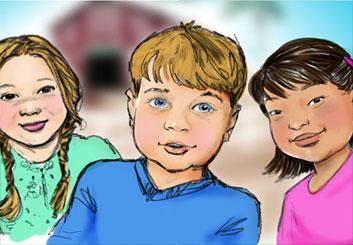 Renee Reeser's Kids storyboard art