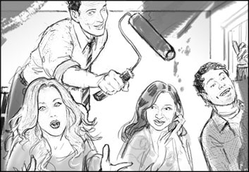 Renee Reeser's Likenesses storyboard art