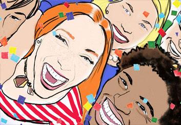 Renee Reeser's People - Color  storyboard art