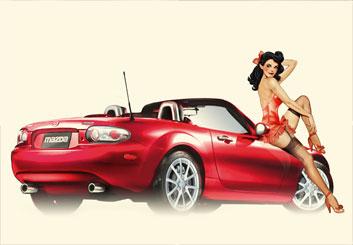 Renee Reeser's Vehicles storyboard art