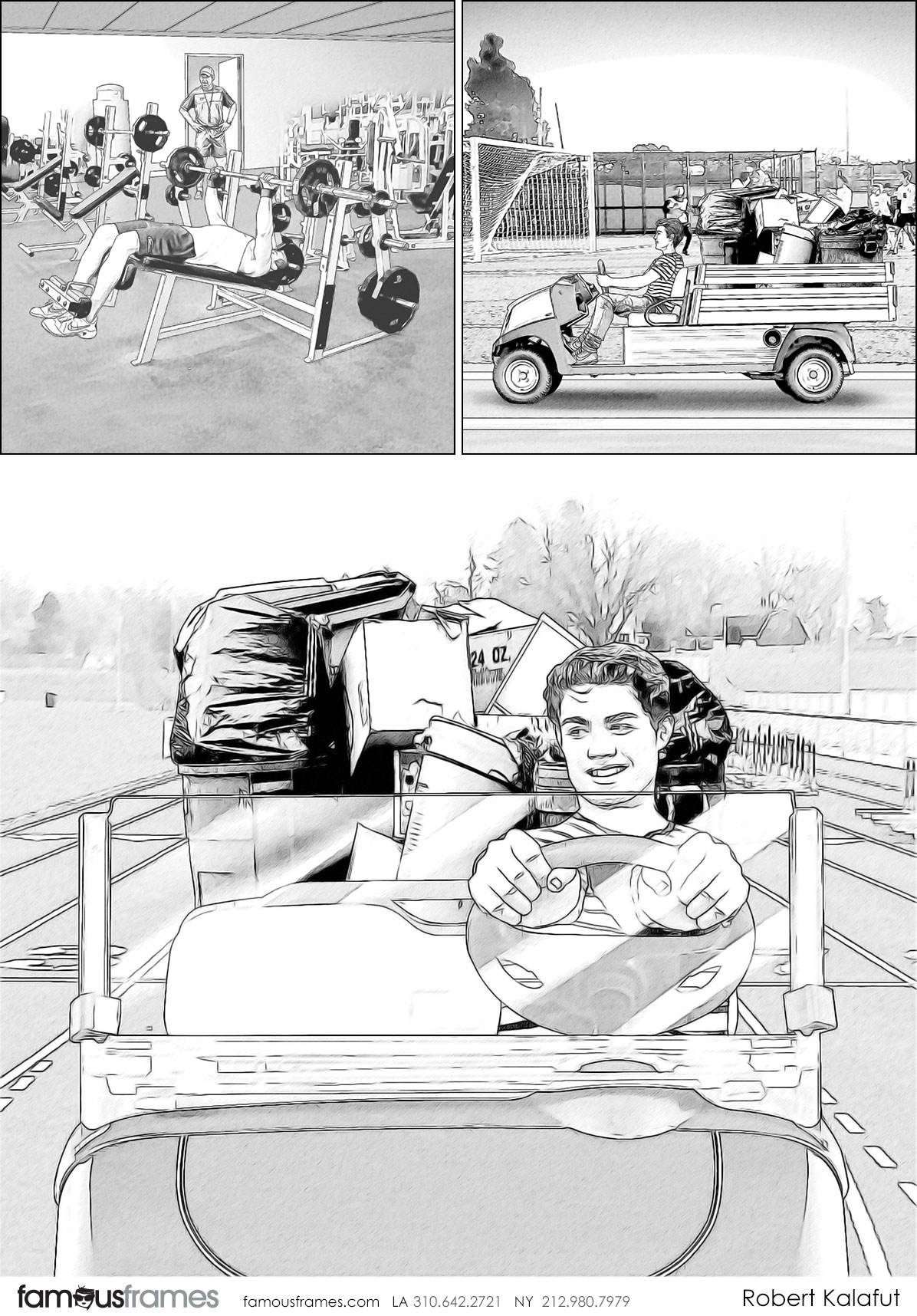 Robert Kalafut*'s People - B&W Line storyboard art (Image #116_114_1542420276)