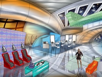 Robert Kalafut*'s Concept Environments storyboard art