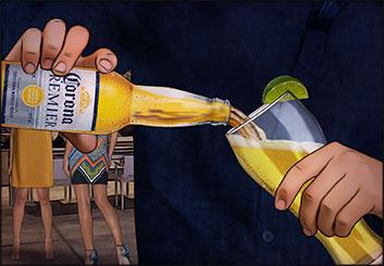 Robert Kalafut*'s Liquids storyboard art