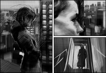 Ruben Sarkissian's People - B&W Tone storyboard art