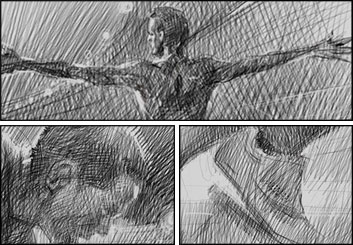 Ruben Sarkissian's Shootingboards storyboard art