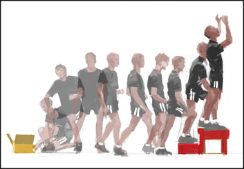 Ruben Sarkissian's Sports storyboard art
