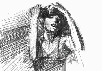 Ruben Sarkissian's Beauty / Fashion storyboard art