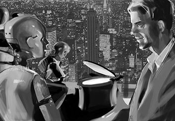 Ruben Sarkissian's Sci-Fi storyboard art