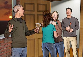 Micah Ganske's People - Color  storyboard art