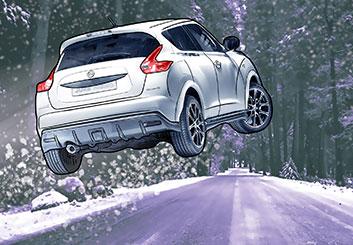Micah Ganske's Vehicles storyboard art