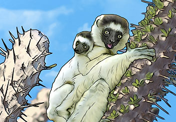 Micah Ganske's Wildlife / Animals storyboard art