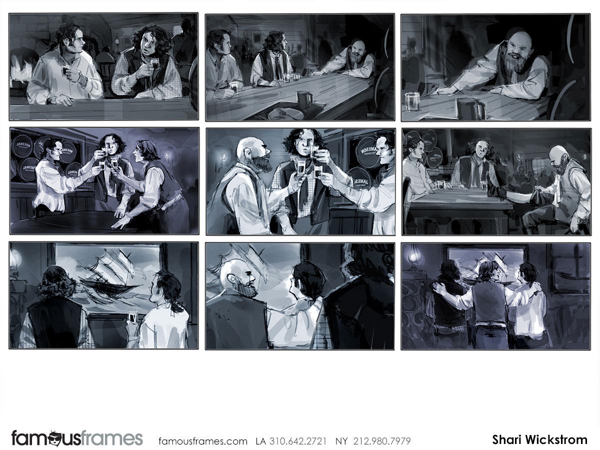 Shari Wickstrom's People - B&W Tone storyboard art (Image #125_113_1384909709)
