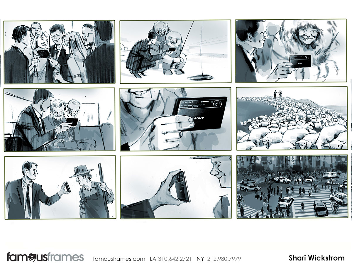 Shari Wickstrom's People - B&W Tone storyboard art (Image #125_113_1384909717)