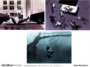 Shari Wickstrom's Concept Environments storyboard art