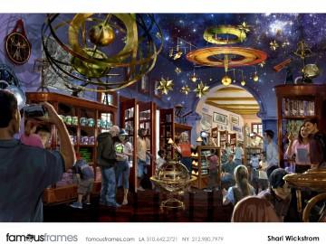 Shari Wickstrom's Conceptual Elements storyboard art