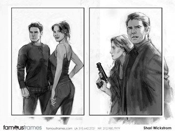 Shari Wickstrom's Key Art / Posters storyboard art