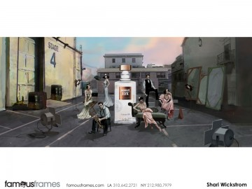Shari Wickstrom's Environments storyboard art