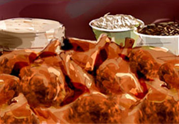 Shari Wickstrom's Food storyboard art
