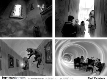 Shari Wickstrom's Film/TV storyboard art