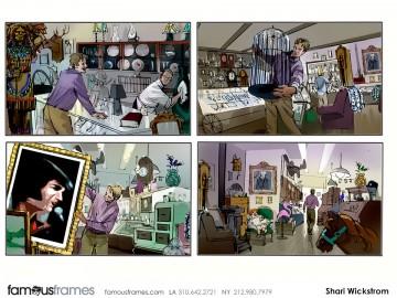 Shari Wickstrom's People - Color  storyboard art