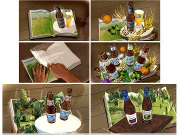 Shari Wickstrom's Products storyboard art