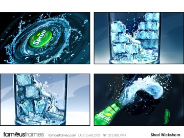 Shari Wickstrom's Liquids storyboard art